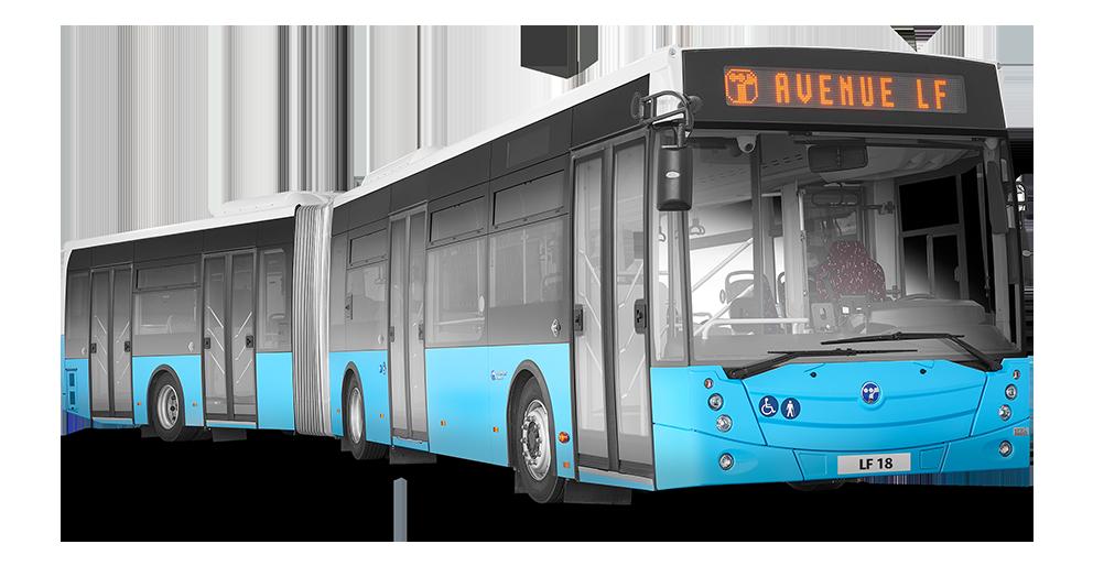naujas miesto autobusas pardavimui